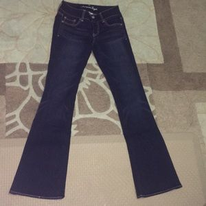 BRAND NEW FLARE AMERICAN EAGLE JEANS
